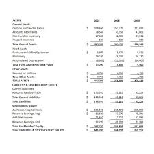 Consolidated Balance Sheet Template The Uses And Analysis Of Common Size Financial Statements In