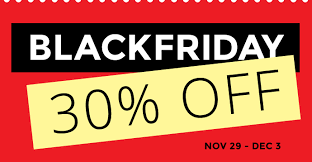 black friday sale 30 themify