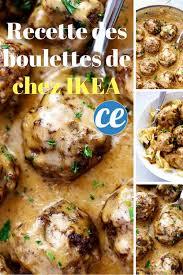 faire sa cuisine chez ikea la recette des boulettes suèdoises de chez ikea enfin dévoilée