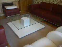 glass coffee table with drawers iron and ikea ottoman lift top