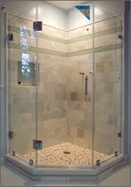 Angled Shower Doors Neo Angle Frameless Shower Doors Dulles Glass And Mirror