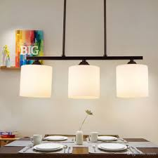 Dining Room Fixture by Nordic Iron Glass Restaurant Chandelier Simple Dining Room Pendant