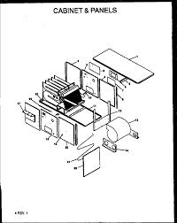 amana gsc model 90 horizontal gas furnace parts model