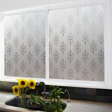 1x pvc windows glass film 45 200cm frosted opaque protective