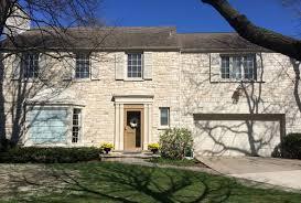 exterior paint color on lannon stone house