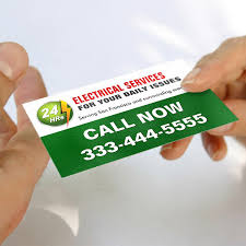 Design Your Own Business Card For Free 24 Hour Electrician Electrical Power Lighting Business Card