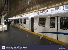 Commuter Rail by Skytrain Commuter Rail Vancouver Bc Canada Stock Photo Royalty