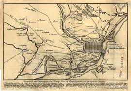 Boston Ferry Map by 1775 To 1779 Pennsylvania Maps