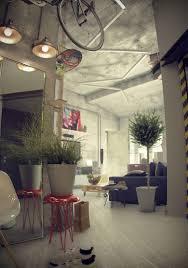 loft a1 maxim zhukov u2013 nowoczesna stodoła wnętrza u0026 design