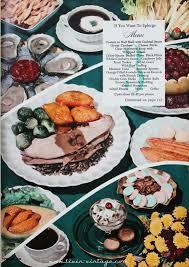thanksgiving menu for two livin vintage november 2013