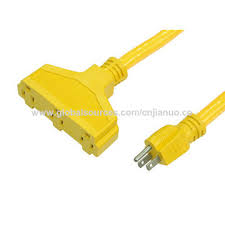 china 3 prong power extension cord cable 14 3 u s to