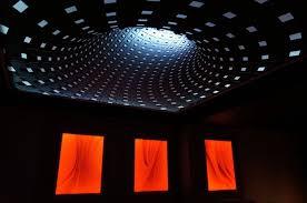 Home Theater Ceiling Lighting 30 Black Living Room Ideas For 2018