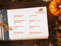 elsie s official thanksgiving recipe book