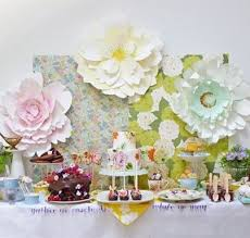 dessert table backdrop dessert table with paper flower backdrop dessert tables