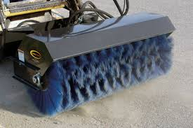 quick sweep mini power angle broom quickattach