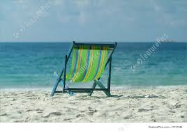 Chairs On A Beach Chair On The Beach Stock Image I1317244 At Featurepics