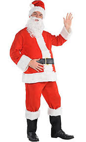 santa claus suit santa suits santa costumes for adults kids party city