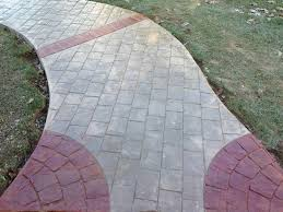 Pictures Of Stamped Concrete Walkways by Concrete Walkways Chadds Ford Difelice Stamped Concrete