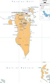 Bahrain Map Middle East by Detailed Clear Large Map Of Bahrain Ezilon Maps