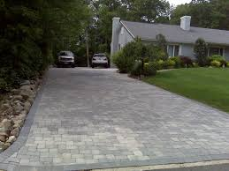 brick paver driveways decarlo landcaping contractors