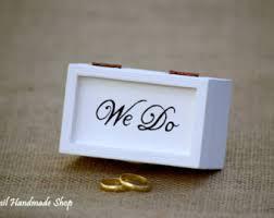 engagement ring box wedding ring box ring bearer box