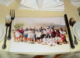 50th high school reunion decorations make copies of your class photo and use as a placemat at your high
