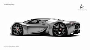 koenigsegg concept car new baby koenigsegg supercar gets rendered forcegt com