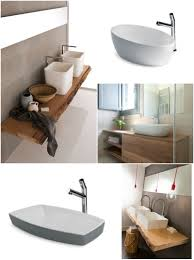 mensola lavabo da appoggio rinnovare e ristrutturare il bagno in stile moderno e di design