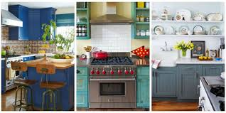 blue kitchen ideas 10 beautiful blue kitchen decorating ideas best blue paints for