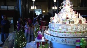 westin st francis unveils edible christmas tree holiday