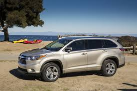 toyota highlander 2016 interior 2016 toyota highlander overview the news wheel