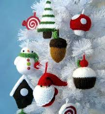 185 best knitted ornaments images on