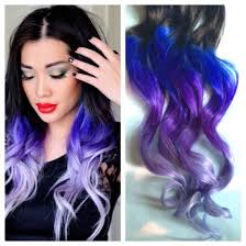 ombre hair weave african american purple and blue hair clip extensions blue ombre hair purple