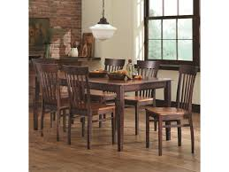 Furniture Kitchen Set L J Gascho Furniture Anniversary Ii Dining Set With Venice Side