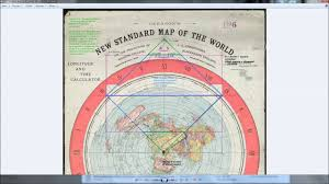 Detailed World Map Standard Time by Flat Earth Love Gleasons Gleason Map Is Bunk Due To Debunking