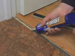 how to install a t molding glue