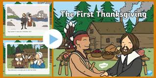 the thanksgiving story powerpoint thanksgiving