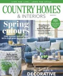 country homes and interiors thoroughly modern