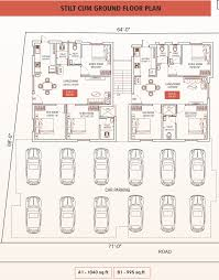 Floor Plans For 800 Sq Ft Apartment by 800 Sq Ft 2 Bhk 2t Apartment For Sale In Oyester Homes Pushpavanam