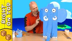 crafts ideas for kids box elephant diy on boxyourself youtube