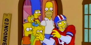homer homer simpson was disappointed with the denver broncos 18 years