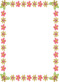 Flower Designs On Paper Simple Beautiful Borders For Projects On Paper Free Download