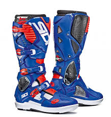 gaerne motocross boots 2018 sidi crossfire 3 srs boots white blue red flo
