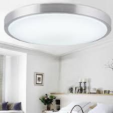 Living Room Ceiling Light Fixtures New Modern Acrylic Lampshade Surface Mounted Led Ceiling Lights