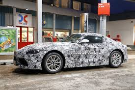 convertible toyota supra 2019 toyota supra spied up close and personal
