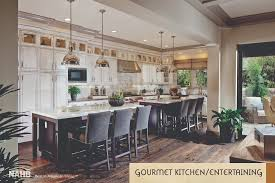double up kitchen islands that serve you best in american living ambassador gardens parcel 16 photography by eric figge photography