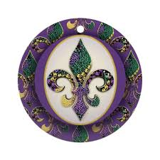 mardi gras ornaments mardi gras christmas ornament cafepress