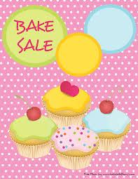 printable bake sale flyer u2013 cute pink with cupcakes bake sale