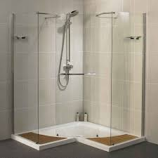 bathroom shower stall ideas prefab shower stalls with glass borders house design and office