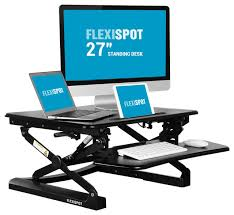 sit and stand desk platform cool ideas adjustable standing desk flexispot height 27 wide